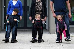 Clever Mum Debby Elnatan's giant leap of Innovation helps disabled children to take their first steps