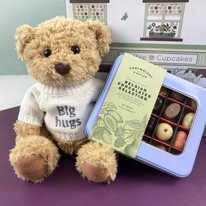 Bertie's Big Hugs Cartwright and Butler Chocolate Hamper