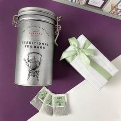 Tea and Treats Hamper with Babyblooms Chocolates