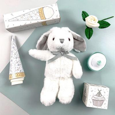 Baby Shower Gift Set, White