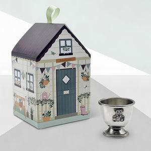 Little Treasures Pewter Egg Cup