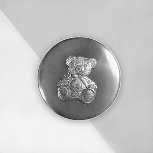 Little Treasures Pewter Trinket Box with Bear