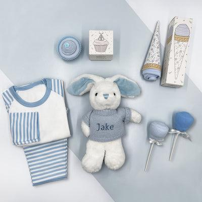 Baby Boy Sweet Treats Hamper, Blue
