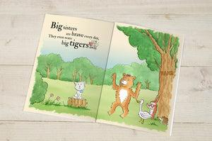 'Big Sisters Are Great' - Personalised Book