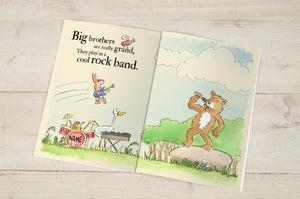 'Big Brothers Are Great' - Personalised Book