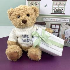 Bertie's Big Hugs Babyblooms Chocolate Hamper