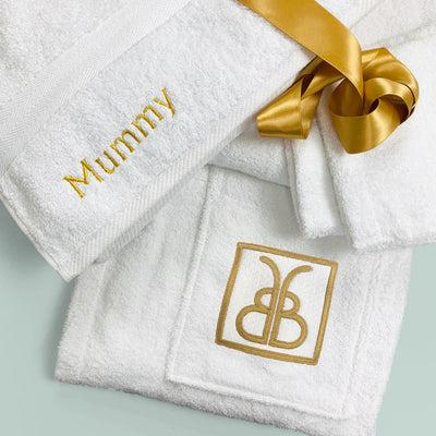 Corniche Collection Mummy Bathrobe and Towel Set Size S/M