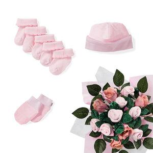 Pink Posy Contents - Showcase