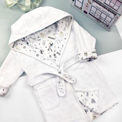 Little Love Cotton Baby Bathrobe  Size 1-2 Years