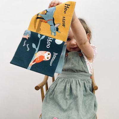 Fuddlewuddle Puppy and Rag Book