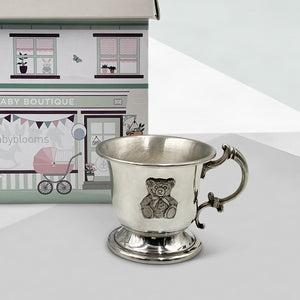 Little Treasures Traditional Pewter Cup