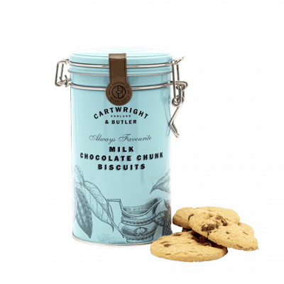 Cartwright and Butler Milk Chocolate Chunk Biscuits