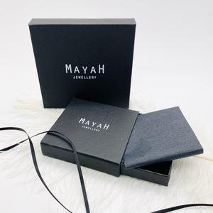 MayaH Jewellery Queen of Hearts Necklace in Silver