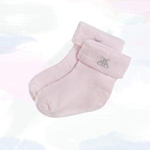 Baby's First Christmas Cracker Socks, Pink