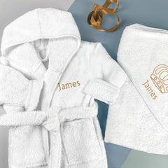 Personalised Little Prince Cosy Cuddles Gift Set - 3-4 Years
