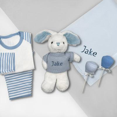 Little Love Snuggle Hamper, Blue