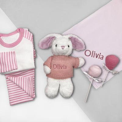 Little Love Snuggle Hamper, Pink