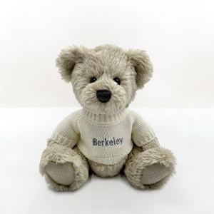 Personalised Christmas Bedtime Set with Berkeley Bear Soft Toy, Grey