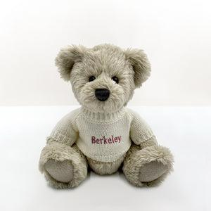 Personalised Christmas Snuggle Wrap With Berkeley Bear, Red