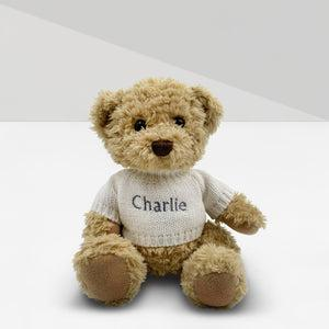 Personalised Send a Christmas Cuddle Bear - White