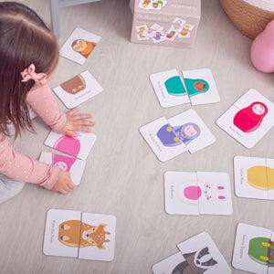 Tops & Tails Matching Game